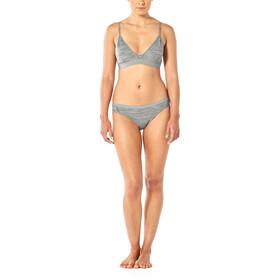 Icebreaker Siren Bikini Slip Naiset, metro heather